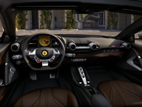 Interior del 812 GTS