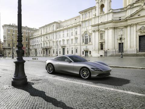 Ferrari Roma estética