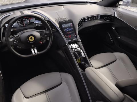 Interior del Ferrari Roma