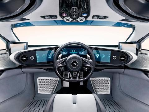 Speedtail y su diseño interior