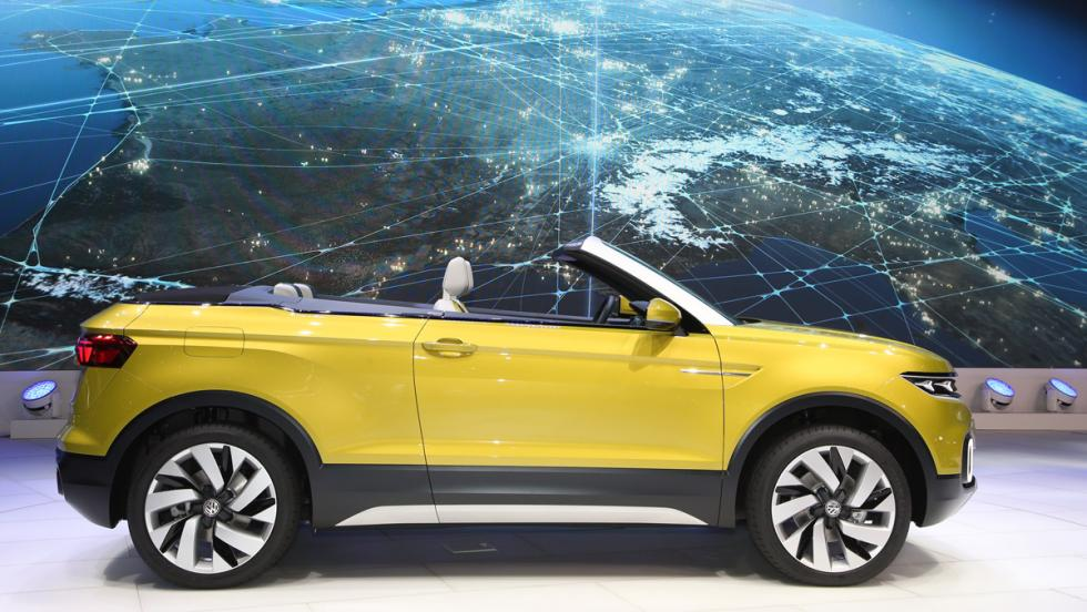 VW T-Cross Breeze, lateral