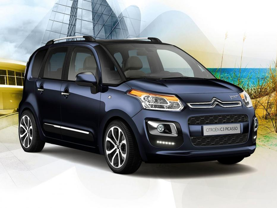 Citroën C3 Picasso 2014 VTi 120CV CMP6 Seduction - 0