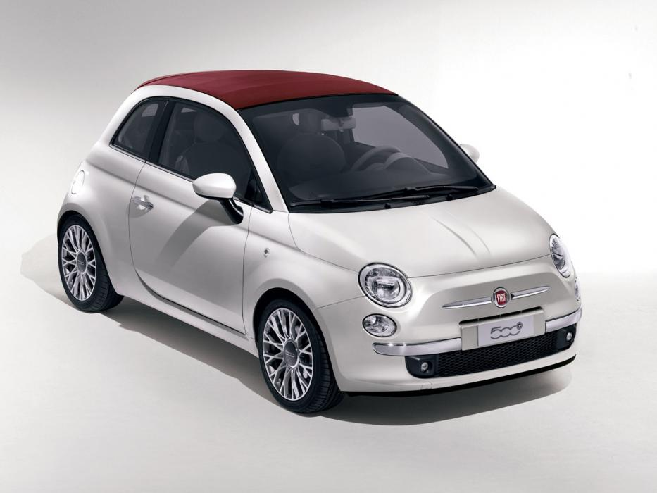 Fiat 500C 2007 1.2 8v 69 CV Color Therapy - 0