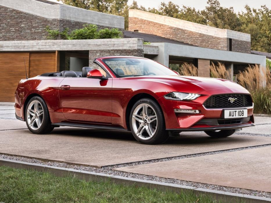 Ford Mustang Convertible 2018 - 0
