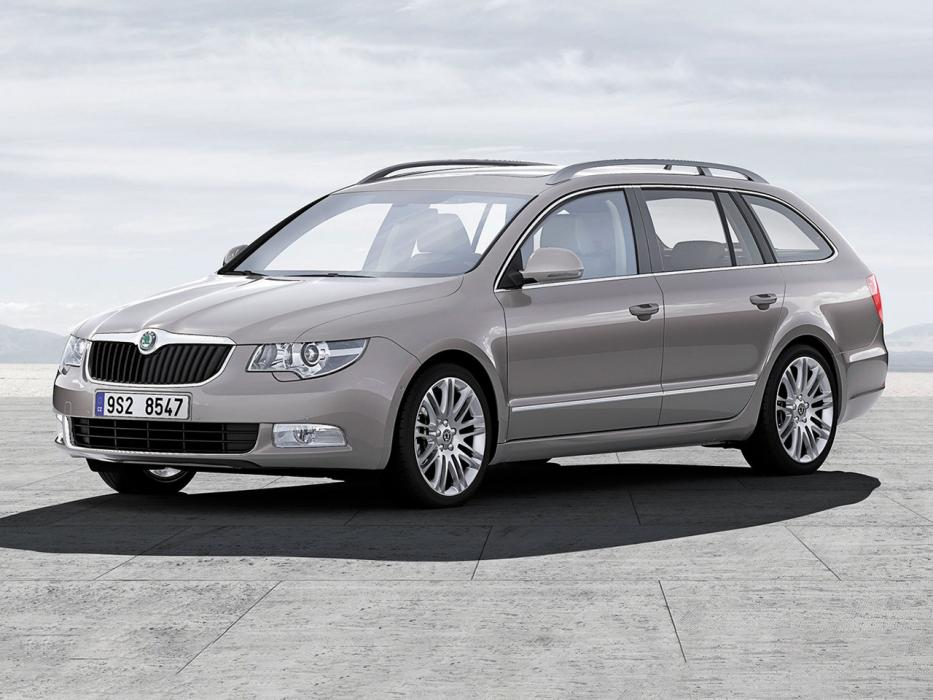 Škoda Superb Combi 2008 2.0 TDI 170 CV Ambition - 0