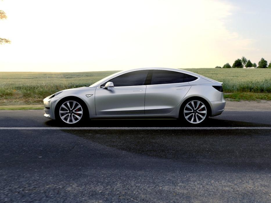 Perfil Tesla Model 3