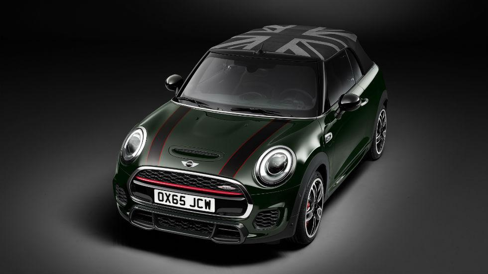 Mini John Cooper Works Cabrio 2016 Frontal